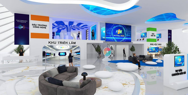không-gian-triển-lãm-tại-FPT-Techday-2020