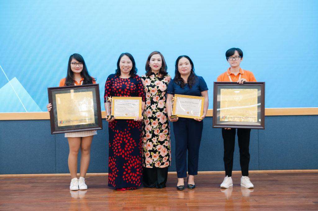 trao giải đấu trường toán học vioedu huyện chương mỹ